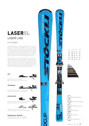 17'-19'|LASER SL / N SP12 Ti blue S75