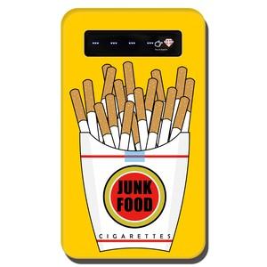 [モバイルバッテリー] Junk Food