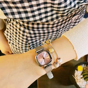 【小物】ファッション金属飾りファッション腕時計18280048