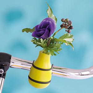 自転車用一輪挿し lime