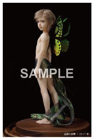 ポストカード「金緑の妖精」B