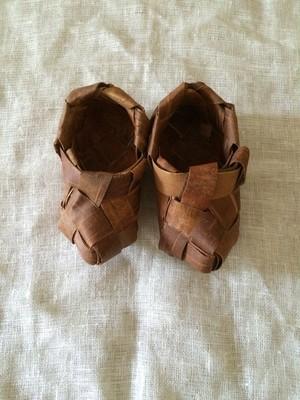 北欧 スウェーデン 白樺の靴 ヴィンテージ
