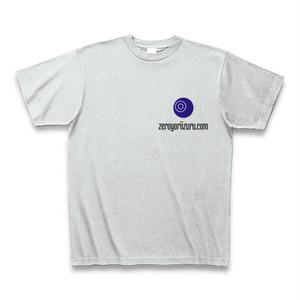 【通販限定】零より出「◎より出」左胸ワンポイントTシャツ(アッシュ)