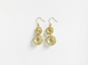 Yularice Bijoux pierced earring Double Gold