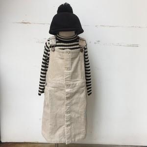 MAKE YOUR DAY コーデュロイジャンパースカート