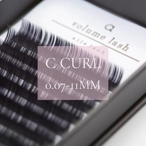 EX105 0.07Cカール11ミリ Volume lash