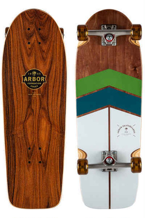 【Arbor Skateboard】OSO Foundation ロンスケコンプリート