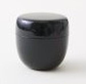 【茶道具/棗 おしゃれ かわいい カラー棗 (ブラック)