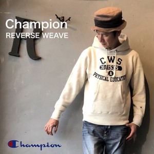 """Champion """"REVERSE WEAVE® 11.5oz PULLOVER HOODED  SWEAT"""" Oatmeal"""