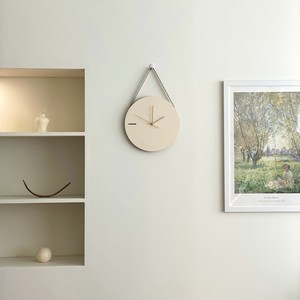 natural tone on tone 2way clock / ナチュラル ウッド 壁掛け時計 置き時計 原木 木製 韓国 インテリア 雑貨
