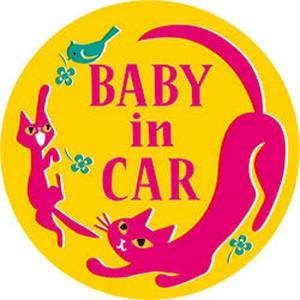 BABY IN CAR カラーステッカー