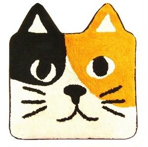 キャットマット(ミケ)猫フェイス
