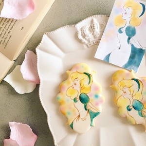 アイシングクッキー 「どんなイラストでも誰でも上手に描ける‼ ペインティングレッスン」