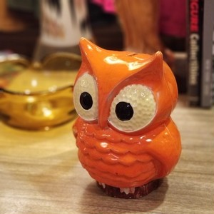 70's OWL BANK USED
