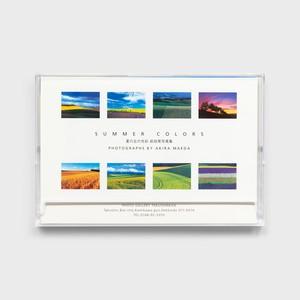 夏の丘の光彩〈ポストカード8枚セット〉