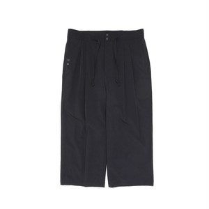 Coolmax Relaxed Wide Pants ワイドクロップパンツ