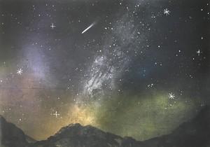 『満天の星』星降る世界。