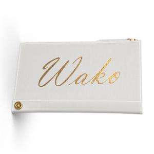 Custom Name Mini Wallet  Premium Smooth Leather (Limited/数量限定6月分)