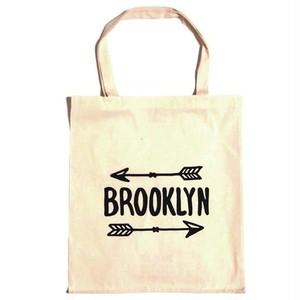 Bag all エコバッグ ブルックリンアロー 折り畳み トート A4サイズ入る おしゃれ バック 布製 レディース メンズ 買い物袋 ブランド