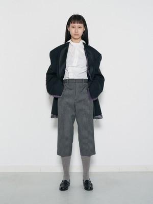 (表示価格は前金30%の価格です)Cropped Trousers
