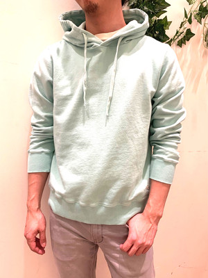 GENTS SEASIDE TERRY HOODIE/MINT