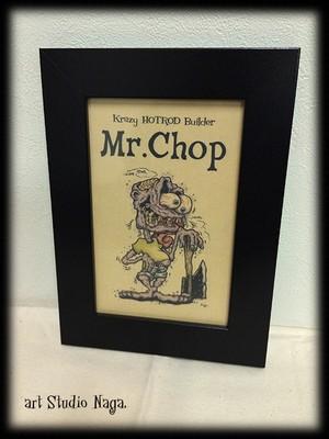 「イラスト」Mr.Chop
