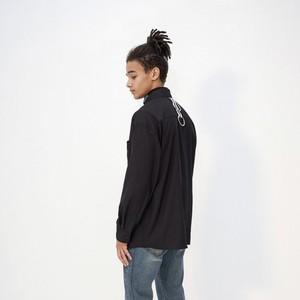 【即納】韓国ファッション OY TAPE RING SHIRTS