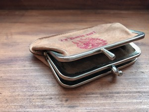 AMERICA Indian Leather coin case