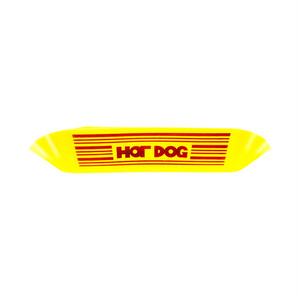 HOT DOG Plastic Plate