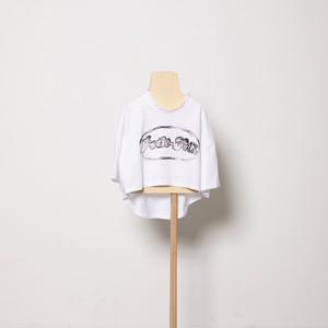 folk made organic cotton shape-T (white) M・Lサイズ F21SS-030 ※メール便1点までOK