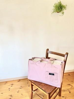 キャリーカバーシンプル スモーキーピンク色