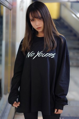 no youth Long Sleeve Tshirt