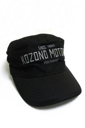 KOZONO MOTORS 刺繍ロゴ入り キャップ