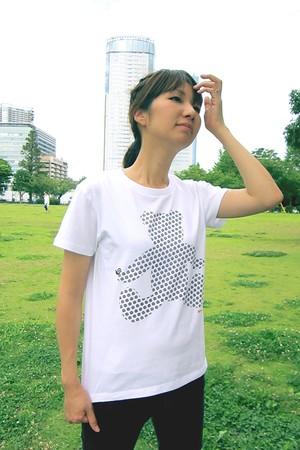 bear -クマ- 大人半袖Tシャツ 親子おそろいTシャツ