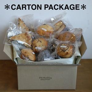 Y's Muffinのお菓子詰め合わせ『カートン・パッケージ』