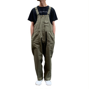 SERVISE OVERALL (OLIVE)【THEUNION】