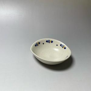 ラインドロップ小鉢(青) [ 10 x 9 x 3cm ] 【初秋の赤絵食卓】