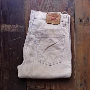 1980s Levi's 517 - 1523 Corduroy Pants Beige / リーバイス コーデュロイパンツ ベージュ ブーツカット