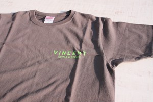 VINCENT スタッフTシャツ <チャコール>