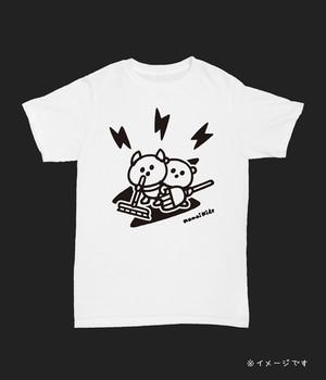 そうじの時間のエアバンドTシャツ 白