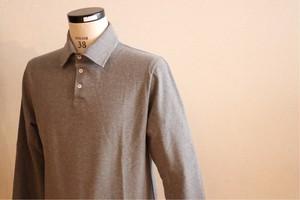 ≪CHANTECLAIR 別注≫長袖 ポロシャツ(Grey)