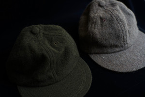 ENDS and MEANS / Wool 5 Panels Cap