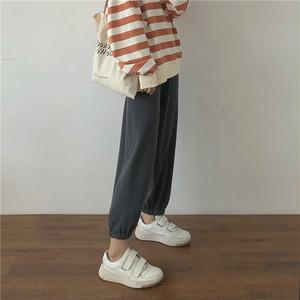 〈カフェシリーズ〉ルーズスウェットカフェパンツ 【loose sweat cafe pants】