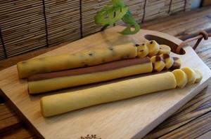 北海道産小麦100%/自然素材/冷凍クッキー/お子様セットW(プレーン・ココア・チョコチップ)/お得/各2本6本セット/冷凍生地/切って焼くだけ/