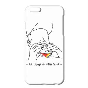 送料無料 [iPhoneケース] Ketchup and mustard 2