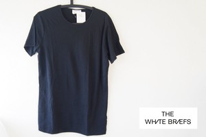 【Sold Out】ホワイトブリーフス|The White Briefs|メンズトップス Tシャツ|EARTH 020(ブラック)