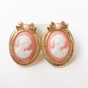 """AVON"" Romantic Portraits earring[e-901]"