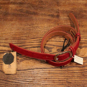 Velor Leather Strap / Wine Red【緊急事態支援キャンペーン】65%OFF!!