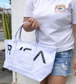 BA041-959 ルーカ 新作 ハンドバック 白 ホワイト 黒 ブラック 人気 ブランド メンズ 男性 通勤 カバン 鞄 プレゼント RVCA GARDENER BAG 8L