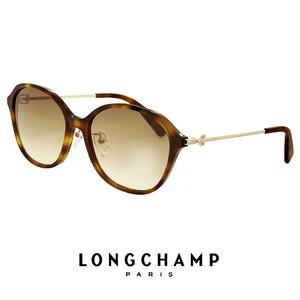 ロンシャン サングラス レディース lo677sj-214 longchamp ジャパンフィットモデル UVカット UV400 オーバル
